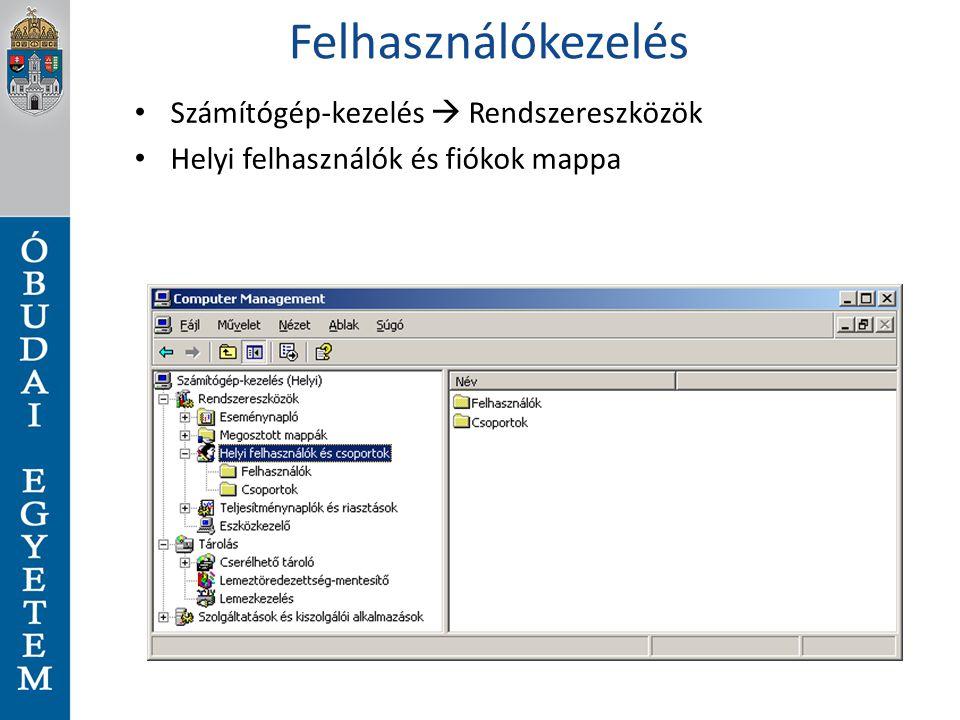 Példa parancsok 1 Dir C:\windows Alias Dir $a = dir C:\windows $a.count $a | Select Name $a | Select Name, Extension $a | group extension Get-ChildItem PS:\powershell $DateToCompare = (Get-date).AddDays(-2) Get-Childitem PS:\windows–recurse | where-object {$_.lastwritetime –gt $DateToCompare}
