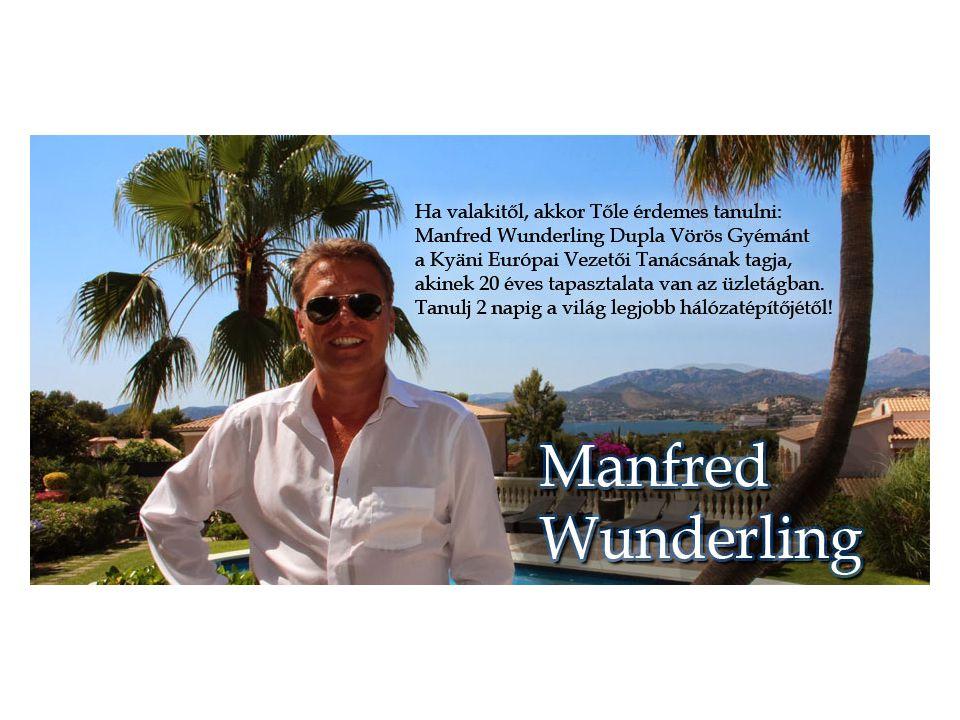 Manfred Wunderling Dupla Vörös Gyémánt tart két napos tréninget Siófokon.