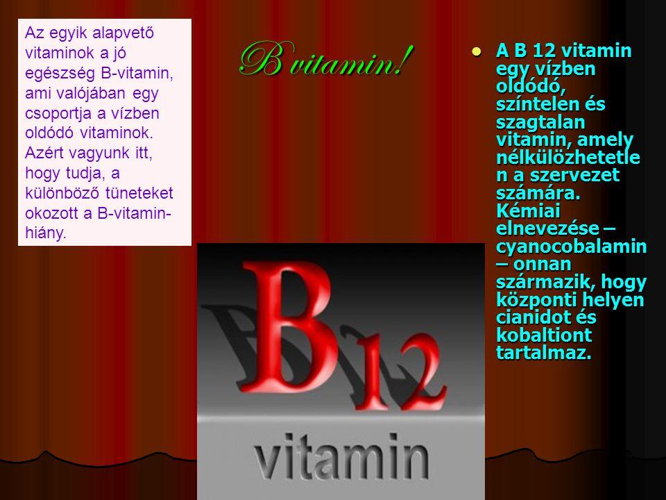 B vitamin.