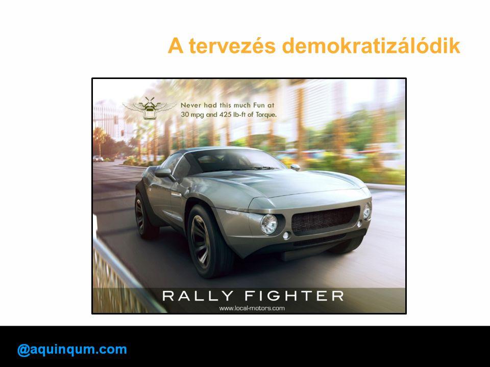 A tervezés demokratizálódik