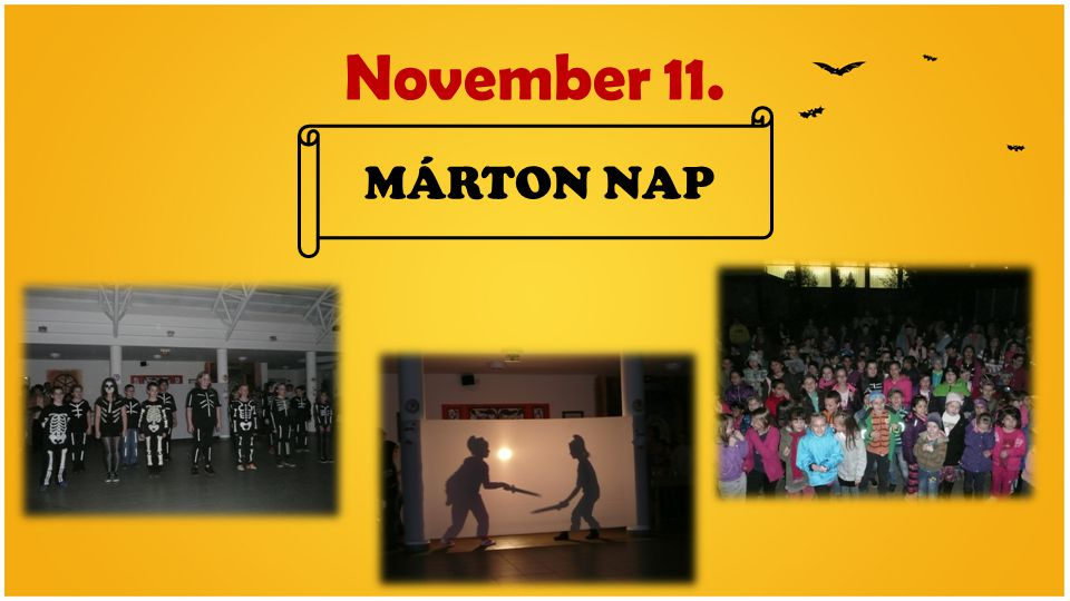November 11. MÁRTON NAP