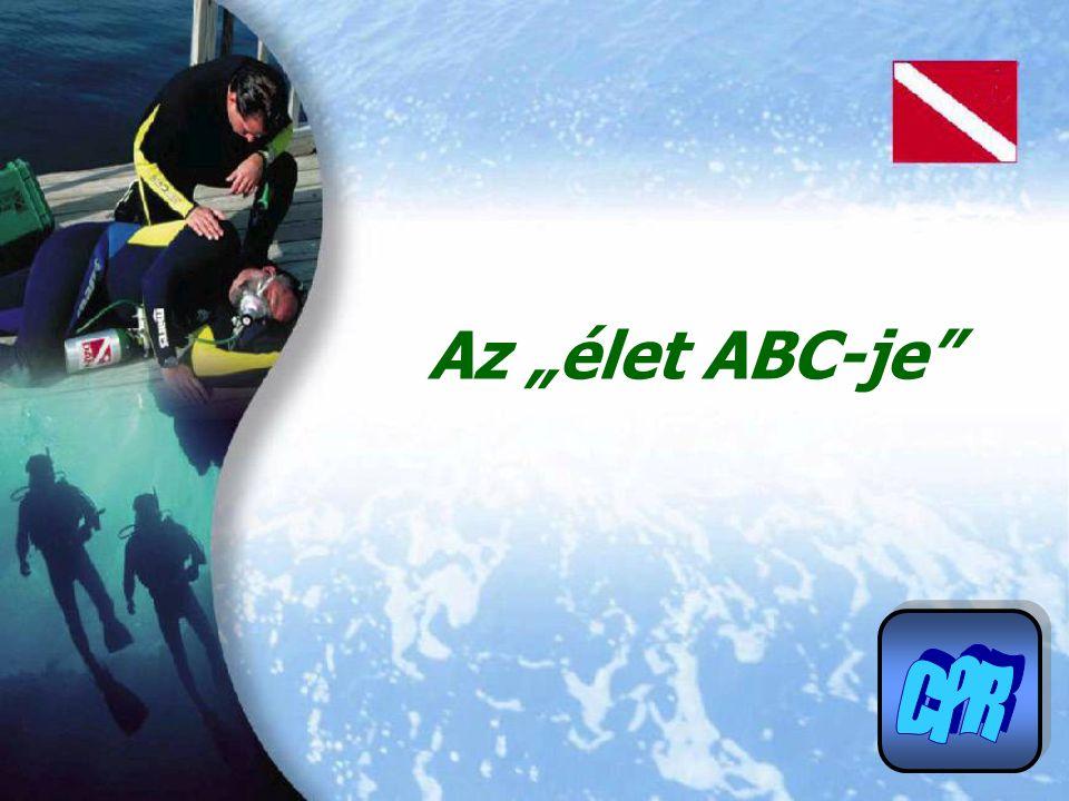 Újraélesztés 5.oldal Az élet ABC-je Az agy oxigénellátása három dologtól függ.