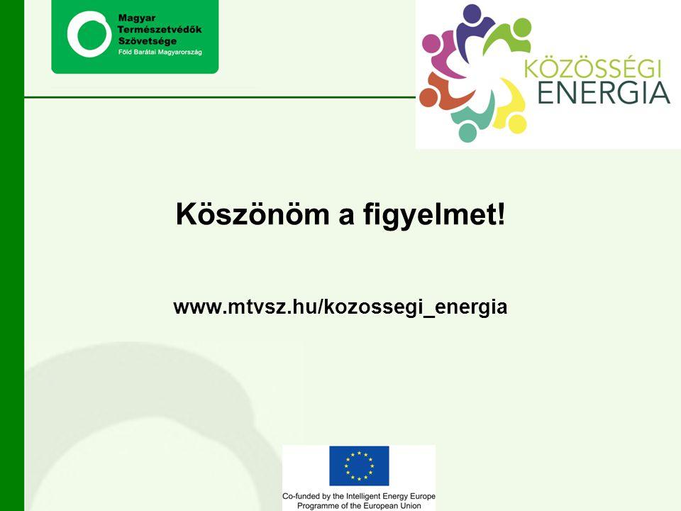 Köszönöm a figyelmet! www.mtvsz.hu/kozossegi_energia