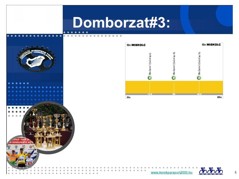 Domborzat#3: www.kerekparsport2000.huwww.kerekparsport2000.hu 6
