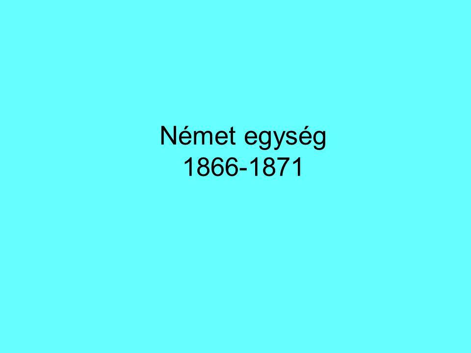 Német egység 1866-1871