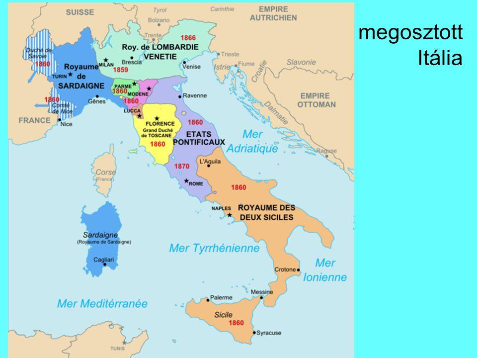 megosztott Itália