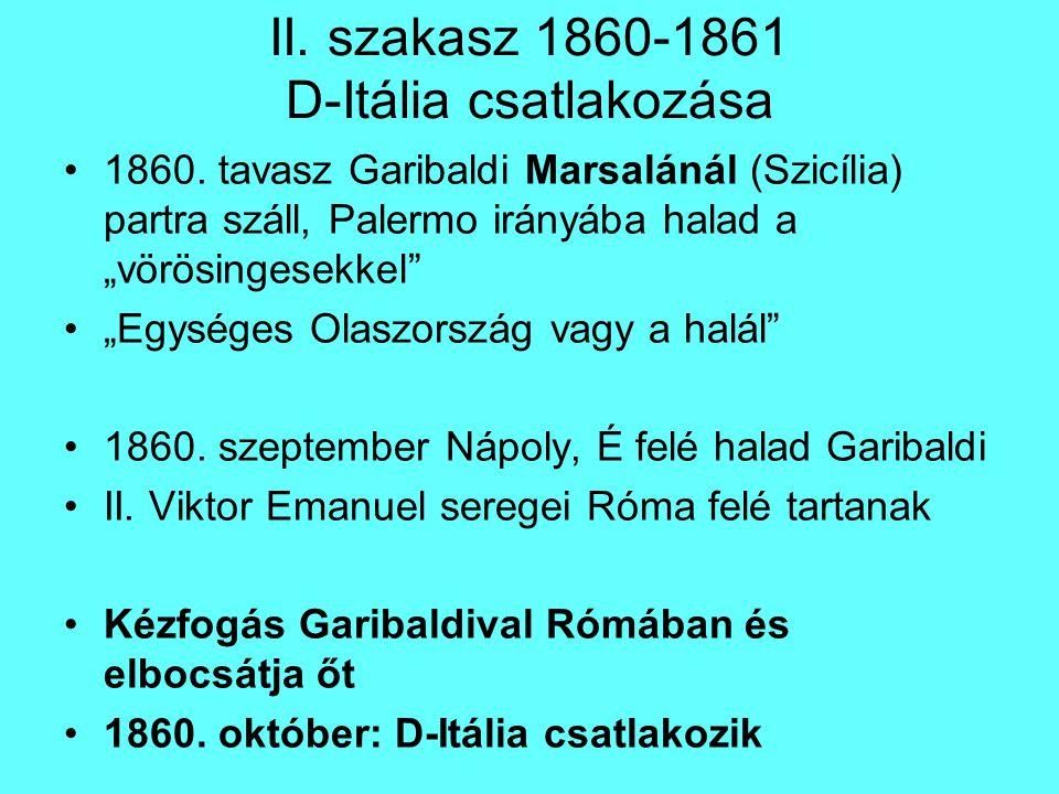 Előkészületek parlament feloszlatása (nem demokratikus út) 1862-65 fegyverkezési program: hátultöltős puska, huzagolt csövű ágyú, általános hadkötelezettség (legmodernebb hadsereg) Diplomáciai előkészületek Oroszország: 1863-ban segít leverni a lengyel felkelést (II.