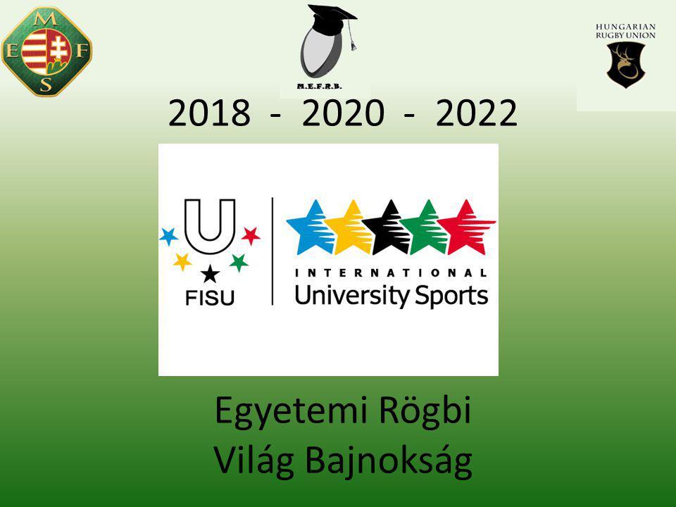 2018 - 2020 - 2022 Egyetemi Rögbi Világ Bajnokság