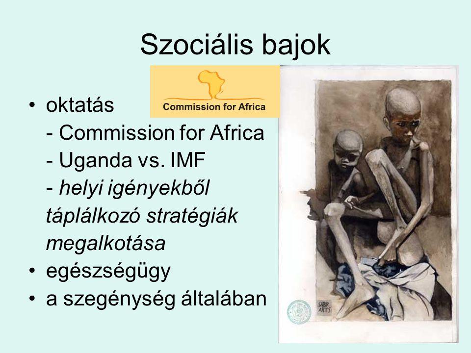Szociális bajok oktatás - Commission for Africa - Uganda vs.