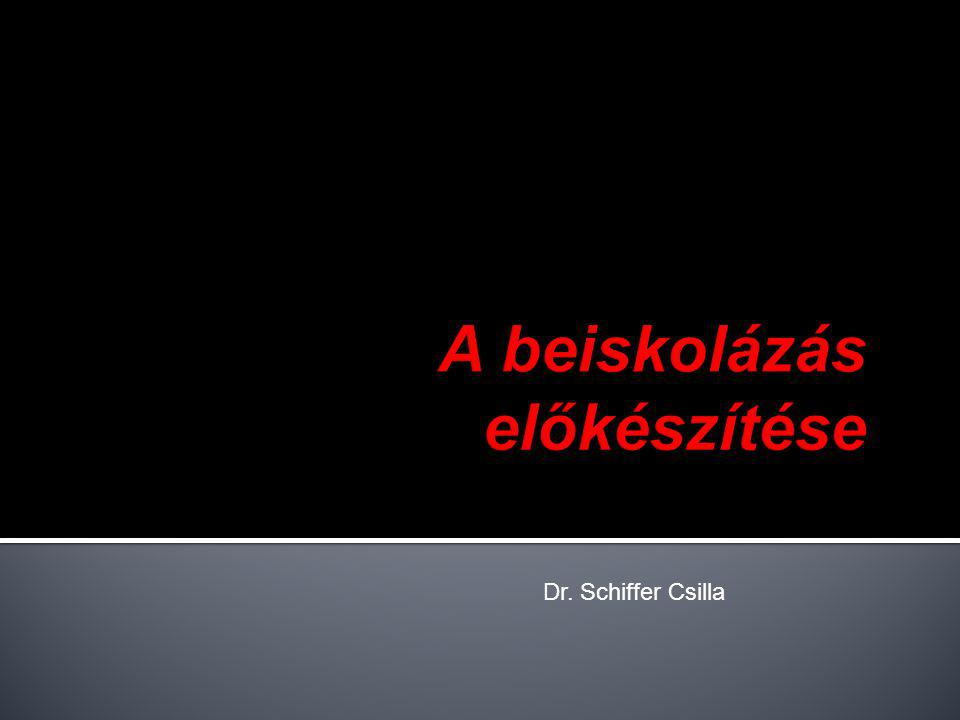 Dr. Schiffer Csilla