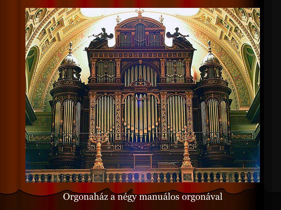 Orgonaház a négy manuálos orgonával