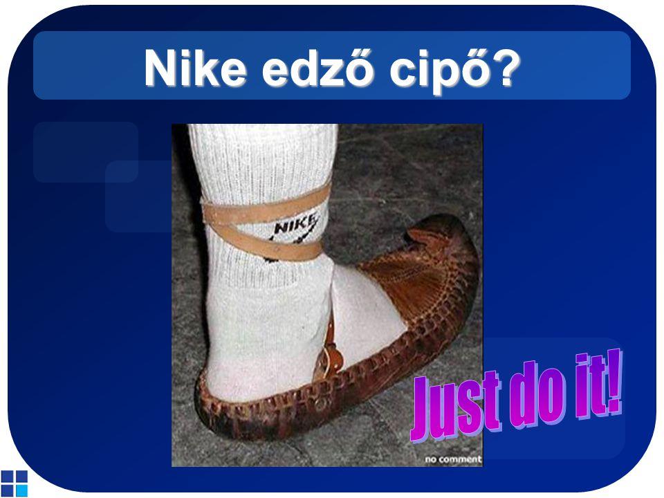 Nike edző cipő
