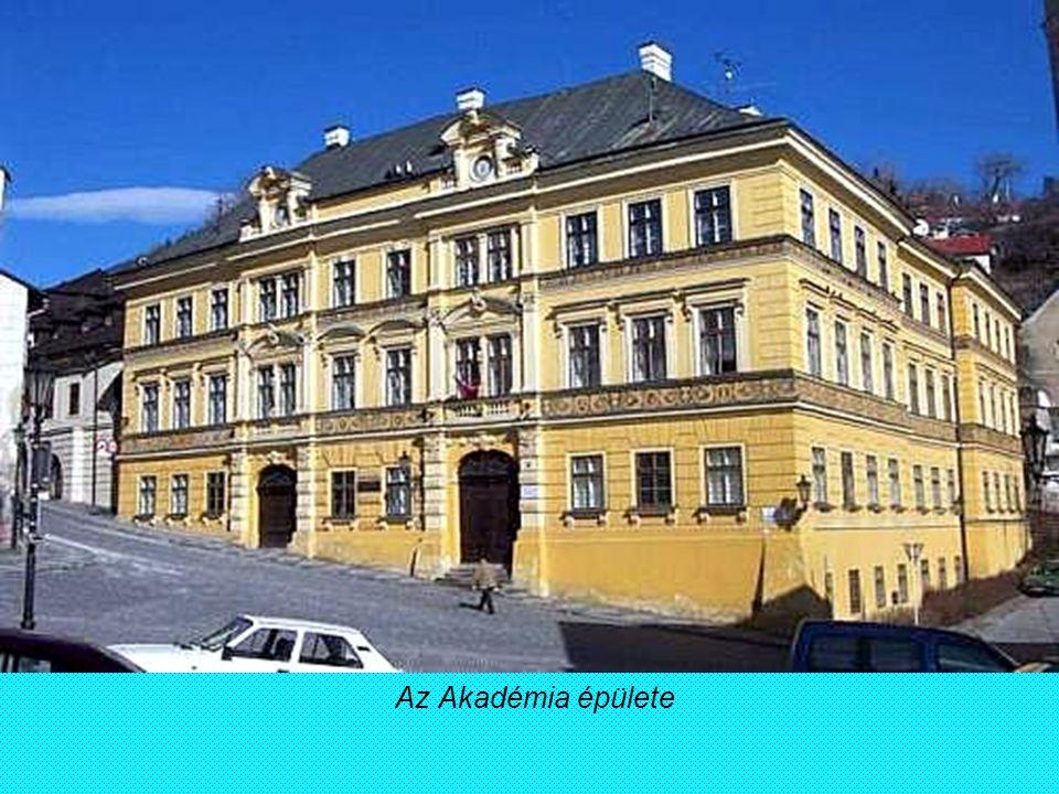 Az Akadémia épülete