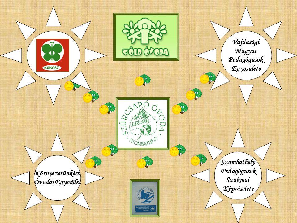 Vajdasági Magyar Pedagógusok Egyesülete Szombathely Pedagógusok Szakmai Képviselete Környezetünkért Óvodai Egyesület
