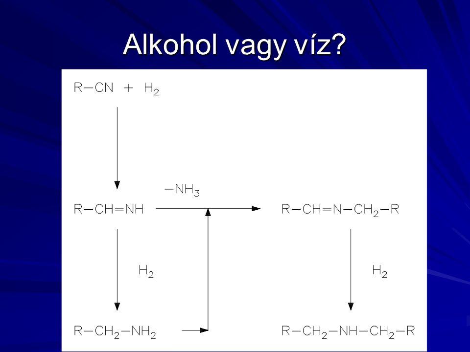 Alkohol vagy víz