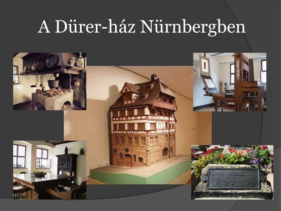 A Dürer-ház Nürnbergben
