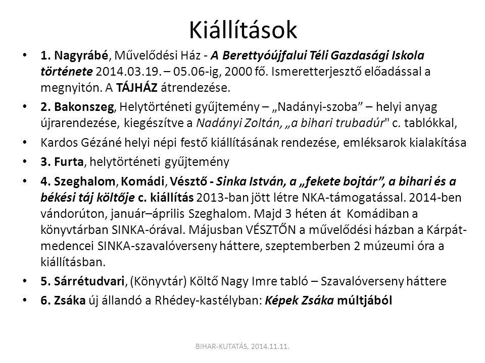 Kiállítások 1.