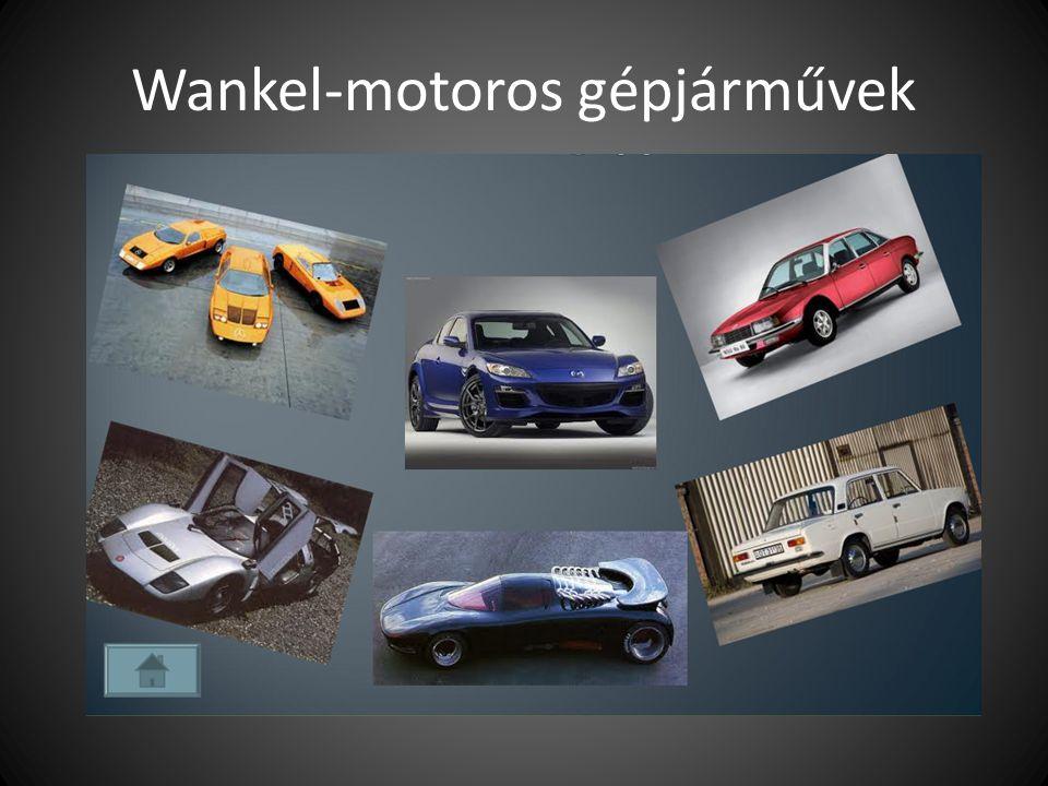Wankel-motoros gépjárművek