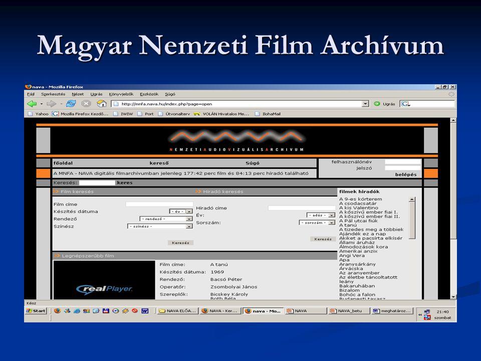 Magyar Nemzeti Film Archívum