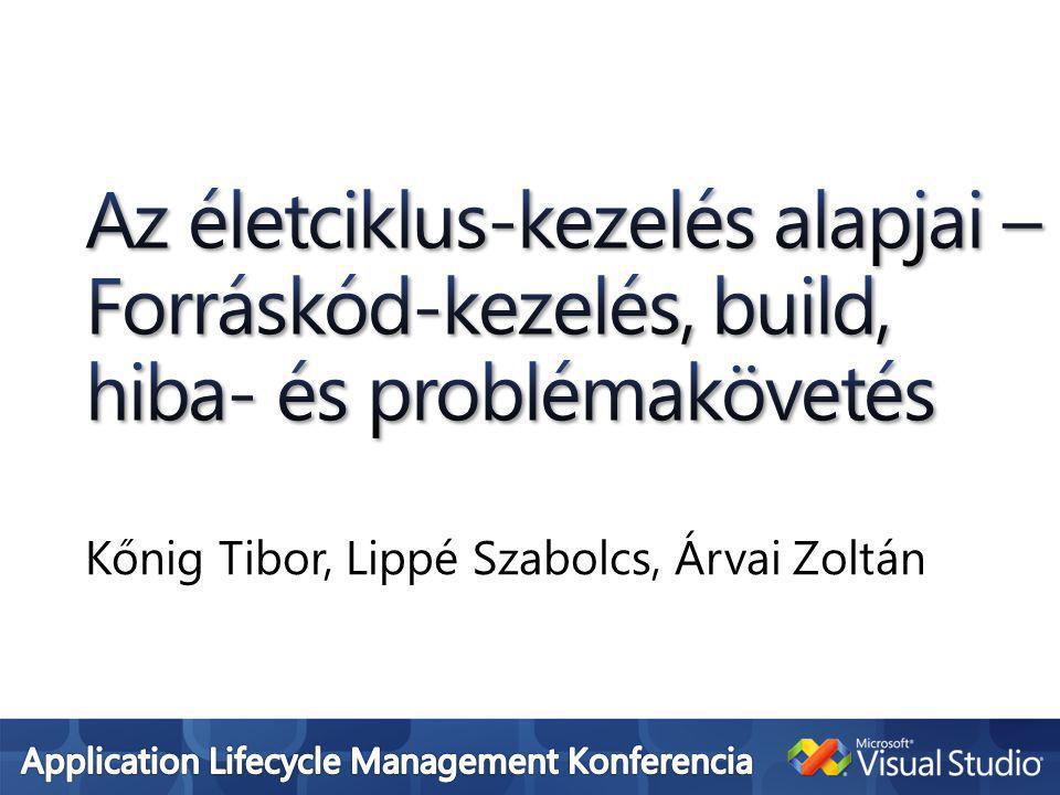 Kőnig Tibor, Lippé Szabolcs, Árvai Zoltán