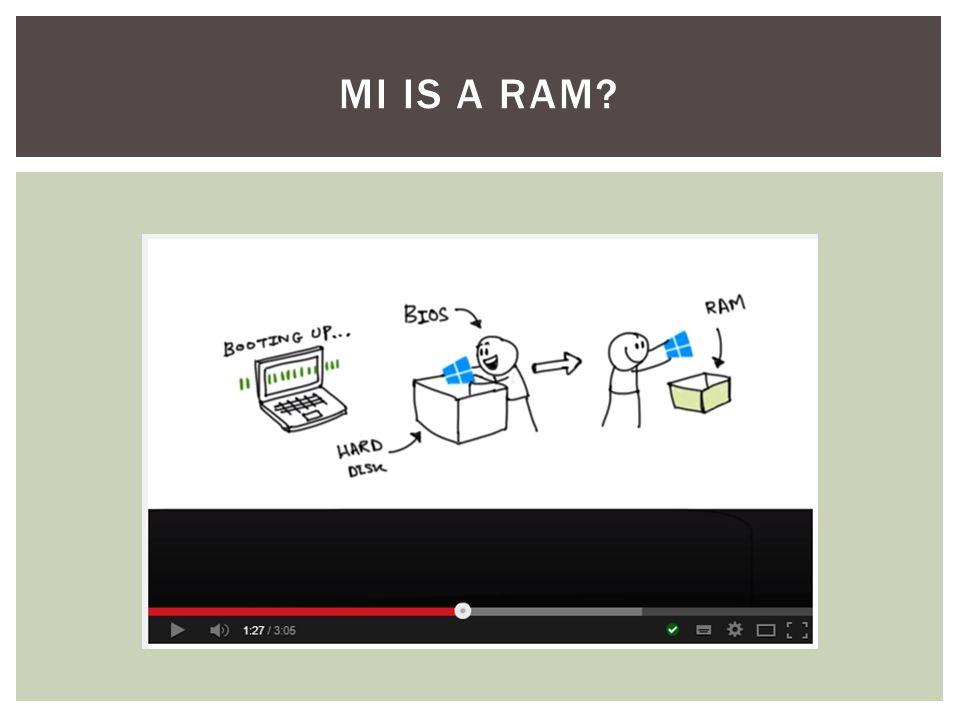 MI IS A RAM