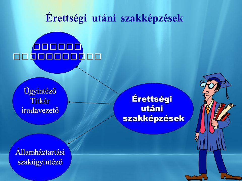 V á rosi Intézményi Központ Remenyik Zsigmond Gimn á zium és Szakközépiskola Érettségi ut á ni szakképzések