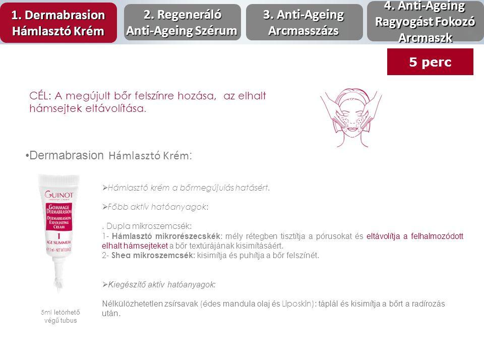 Dermabrasion Hámlasztó Krém : 5ml letörhető végű tubus  Hámlasztó krém a bőrmegújulás hatásért.  Főbb aktív hatóanyagok:. Dupla mikroszemcsék: 1- Há