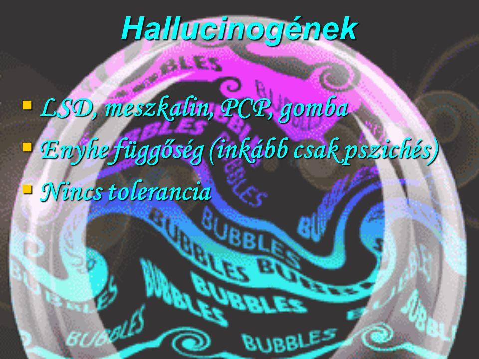 """LSD  Hofman;előállítás:természetes,szintetikus  Hatásmechanizmus:neurotranszmitterek,főleg szerotonin (az meg mi a..?)  Hatások:nem jósolhatók meg  Pszicés:hallucináció(látható zene, hangok;eleven tárgyak), realitásvesztés, érzészavar(BALESETVESZÉLY!!!)  Good trip, bad trip, horror trip( öngyilkosság, gyilkosság!),flashback  Testi tünetek: szédülés, hányás, hányinger, vernyomás emelkedik, szívdobogásérzés,szapora légzés  Hosszú távon:flashback, rejtett pszichés betegség, elvonási tünetek(lelki függőség;unalmas, sivár élet """"Nélküle  )"""