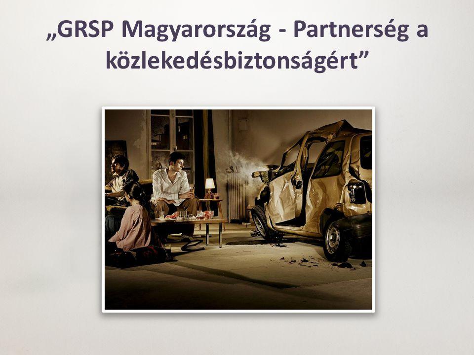 """""""GRSP Magyarország - Partnerség a közlekedésbiztonságért"""