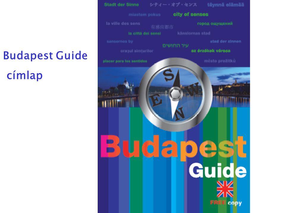 Budapest Guide címlap