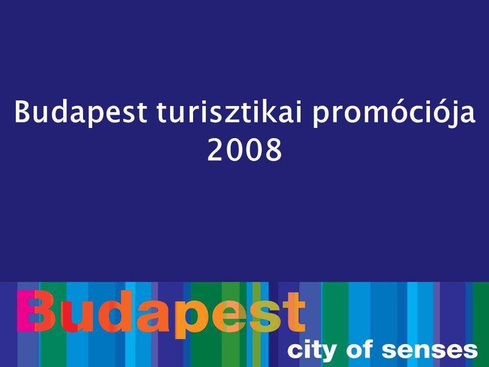 Budapest új turisztikai arculata  Új turisztikai arculat bevezetése Budapest készülő városarculatához illeszkedve  2008-tól minden eszköz és megjelenés az új arculat szerint
