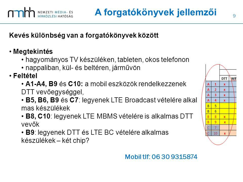 10 Összegzett megállapítások Lineáris TV nézés marad a fő TV nézési forma belátható időn belül.