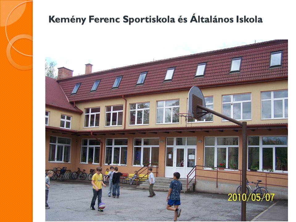 """Kemény Ferenc Sportiskola és Általános Iskola A """"Puskás Ferenc Általános Iskola vidéki városban van."""