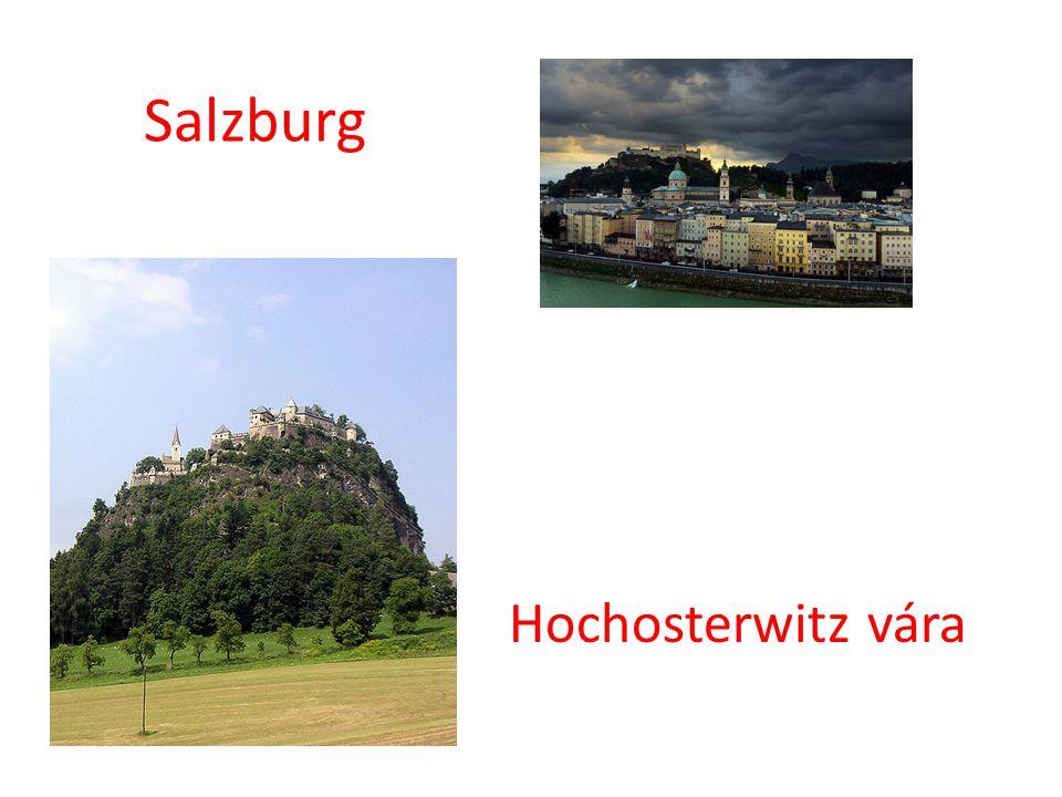 Salzburg Hochosterwitz vára