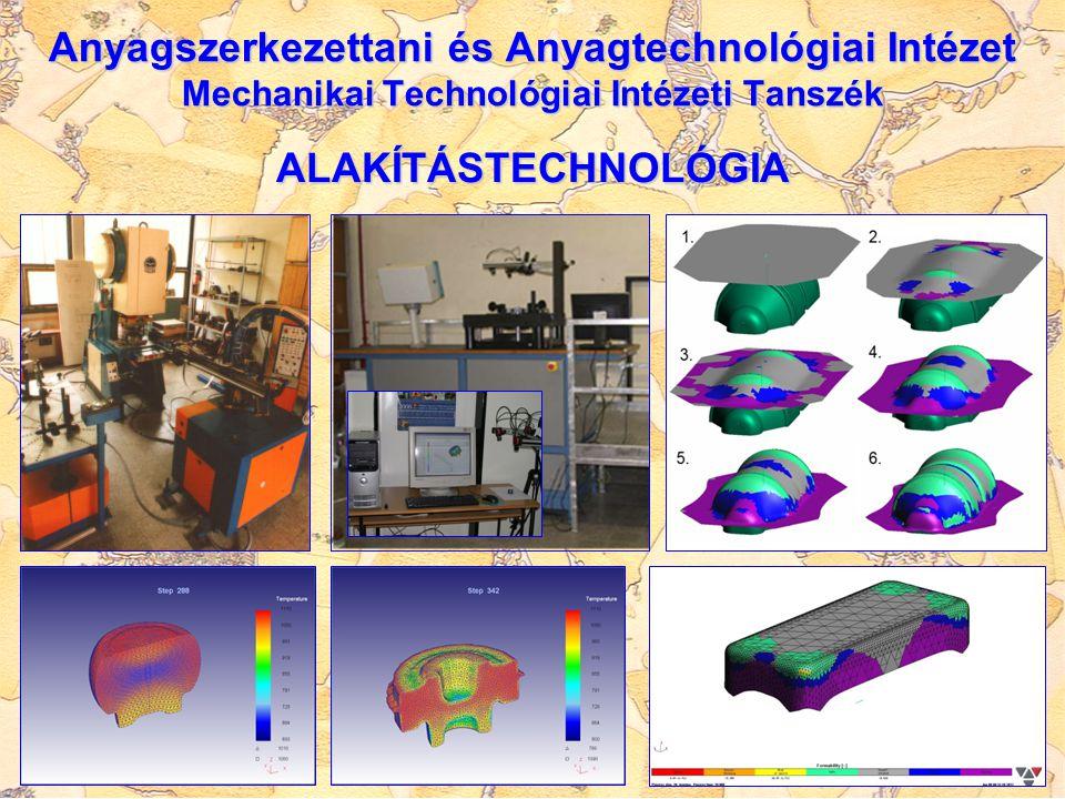 HŐKEZELÉS, FELÜLETKEZELÉS korszerű, nagyszilárdságú anyagok hőkezelése korszerű, nagyszilárdságú anyagok hőkezelése hagyományos felületötvöző hőkezelések (nitridálás, cementálás, boridálás) kutatása és továbbfejlesztése hagyományos felületötvöző hőkezelések (nitridálás, cementálás, boridálás) kutatása és továbbfejlesztése plazma-nitridálás és duplex felületkezelések kutatása plazma-nitridálás és duplex felületkezelések kutatása hőkezeléstechnológiák, numerikus modellezése hőkezeléstechnológiák, numerikus modellezése folyékony edzőközegek hatékonyságának vizsgálata és minősítési rendszerének kidolgozása folyékony edzőközegek hatékonyságának vizsgálata és minősítési rendszerének kidolgozása vékonyrétegek, bevonatok és nano-szerkezetű anyagok mechanikai és felületvizsgálata vékonyrétegek, bevonatok és nano-szerkezetű anyagok mechanikai és felületvizsgálata tribológiai vizsgálatok, kenőanyagok minősítése, műszaki kerámiák és nano-kompozitok károsodás elemzése tribológiai vizsgálatok, kenőanyagok minősítése, műszaki kerámiák és nano-kompozitok károsodás elemzése anyagok minősítése, technológiák hatékonyságának vizsgálata, optimalizálása korszerű felületvizsgálati módszerekkel anyagok minősítése, technológiák hatékonyságának vizsgálata, optimalizálása korszerű felületvizsgálati módszerekkel Anyagszerkezettani és Anyagtechnológiai Intézet Mechanikai Technológiai Intézeti Tanszék Szerkezetintegritási Intézeti Tanszék