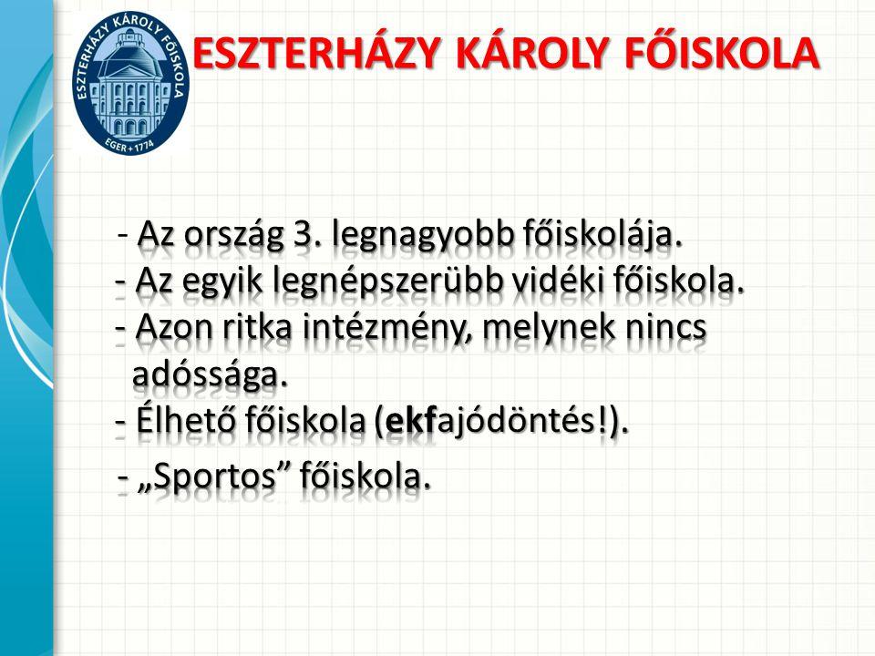 Sporttudományi Intézet TestnevelésTanszékSportmenedzsmentTanszékRekreációTanszék 6 fő oktató 5 2014.