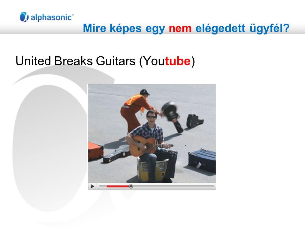 Mire képes egy nem elégedett ügyfél? United Breaks Guitars (Youtube)