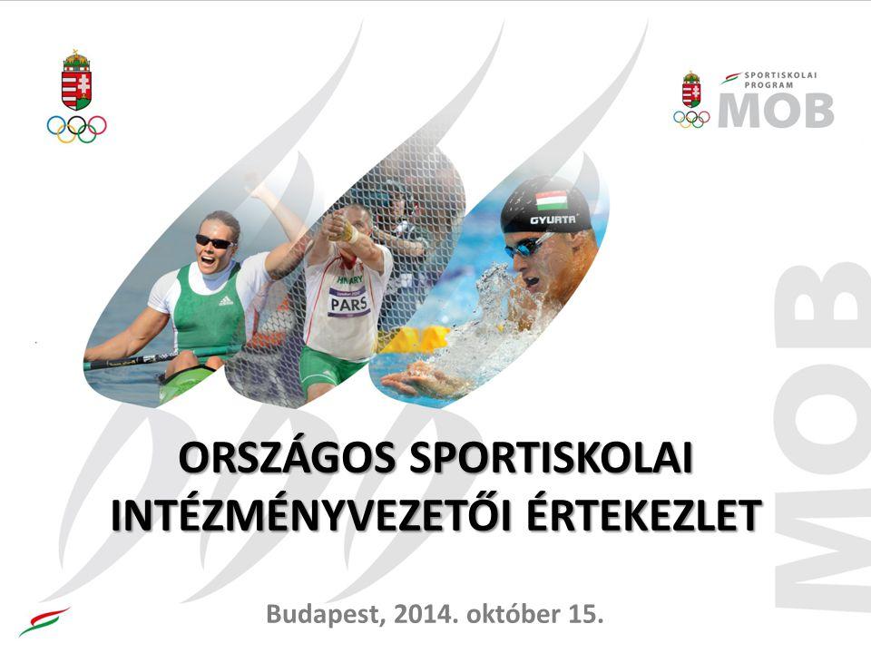 Támogatási feltételek (1) A sportiskolai program innovációjában történő aktív közreműködés.