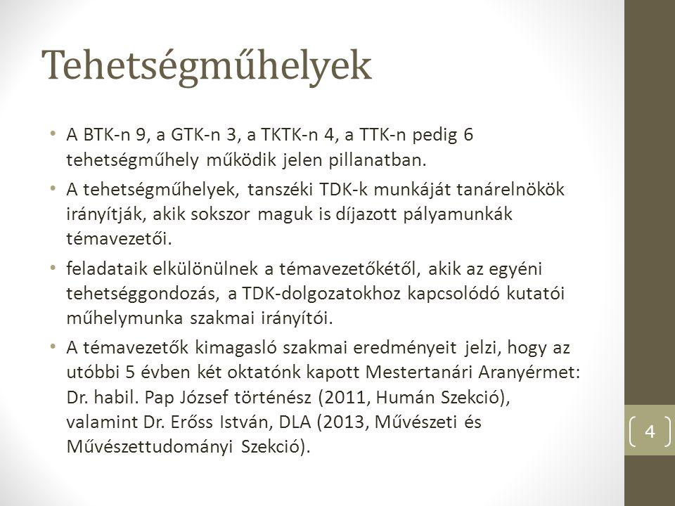 Az EKF hallgatónak ITDK/OTDK szereplése 2009–2013 5 XXIX.