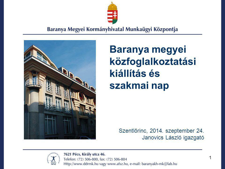 2 Közfoglalkoztatás 2013.