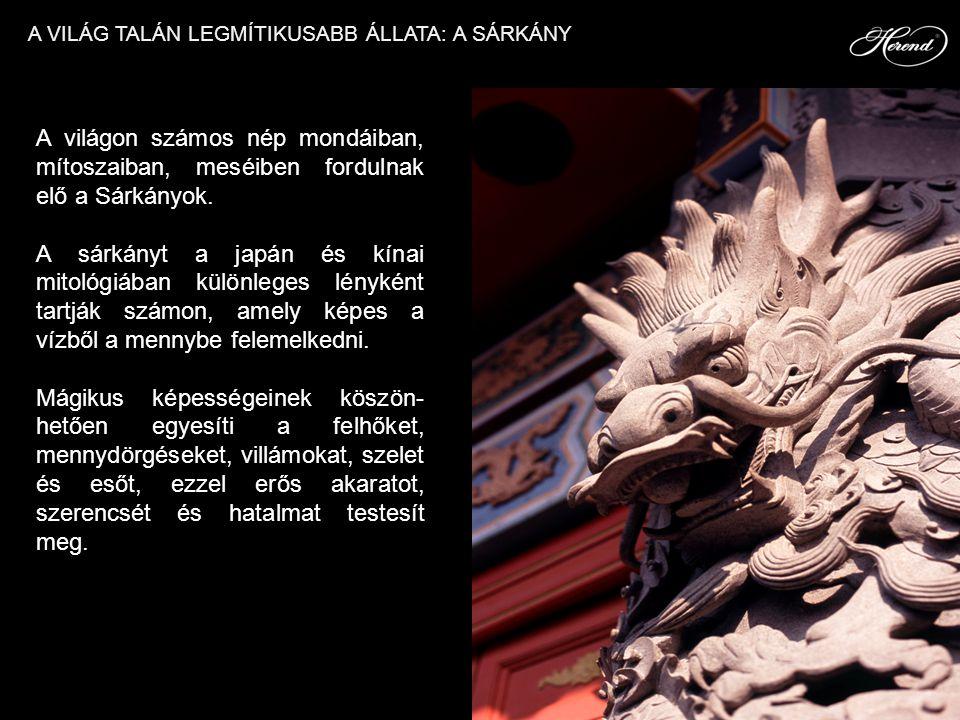 A világon számos nép mondáiban, mítoszaiban, meséiben fordulnak elő a Sárkányok. A sárkányt a japán és kínai mitológiában különleges lényként tartják