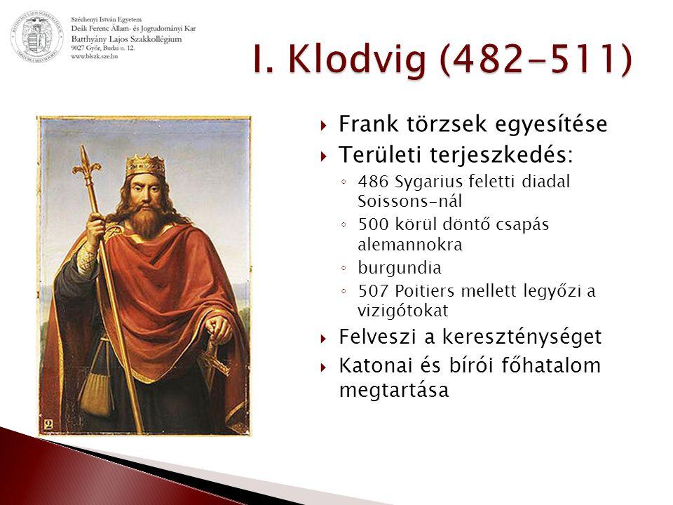 """ """"Éljen Krisztus, ki a frankokat szereti.Oltalmazza meg királyságukat."""