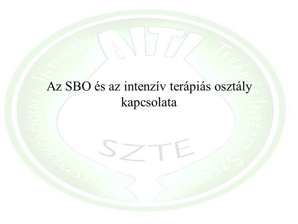 Az SBO és az intenzív terápiás osztály kapcsolata