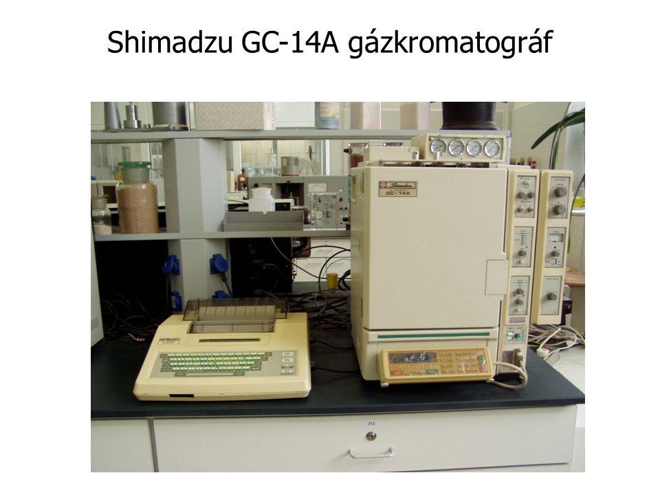 Shimadzu GC-14A gázkromatográf