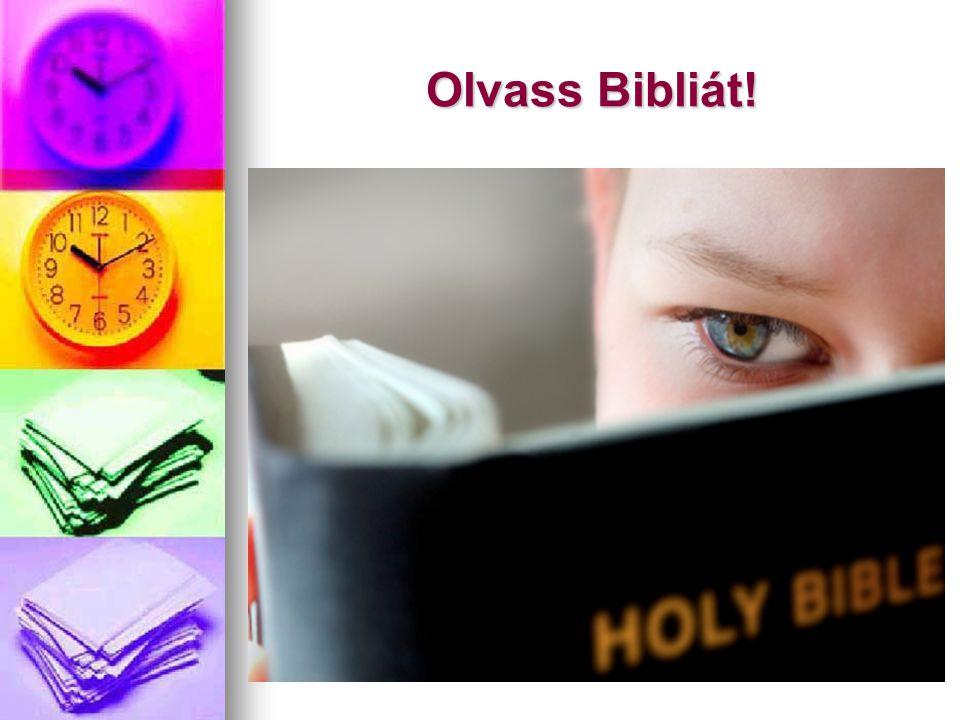 Olvass Bibliát!
