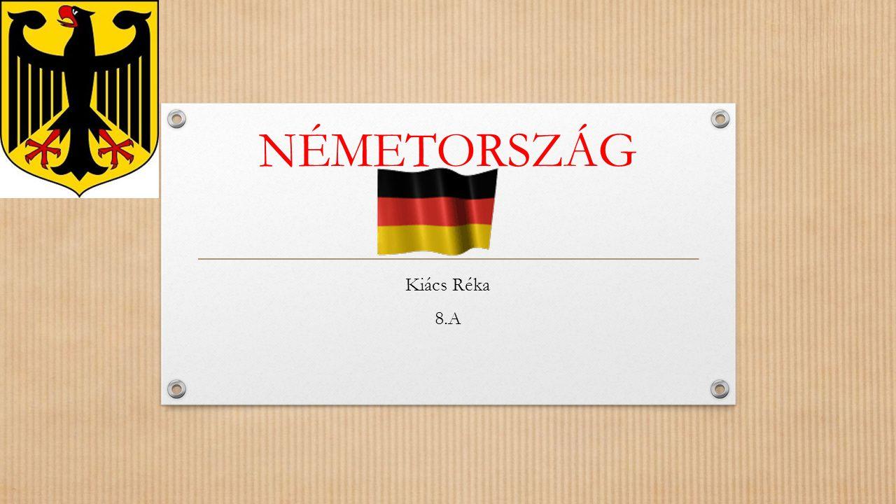 Németország Közép-Európa legnagyobb és legjelentősebb állama.