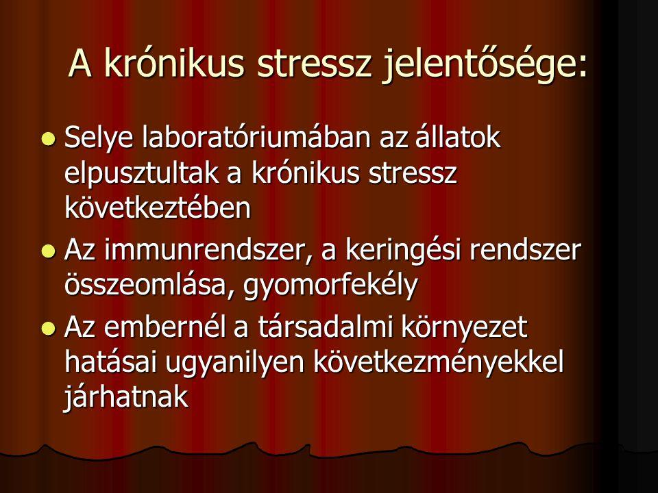 Hasznos vagy káros a stressz? Mikor hasznos és mikor káros a stressz? Mikor hasznos és mikor káros a stressz? Több vagy kevesebb stressz éri a modern