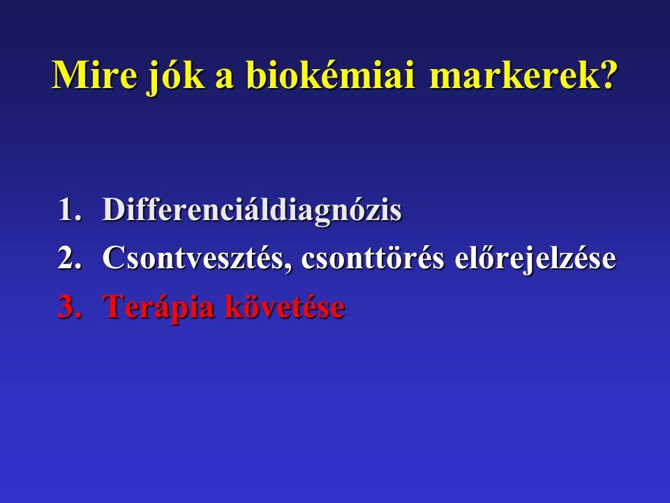 Mire jók a biokémiai markerek.