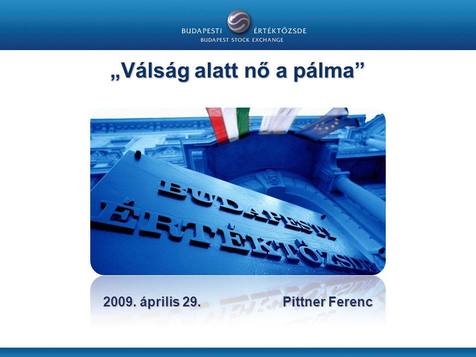 """2009. április 29. Pittner Ferenc """"Válság alatt nő a pálma"""