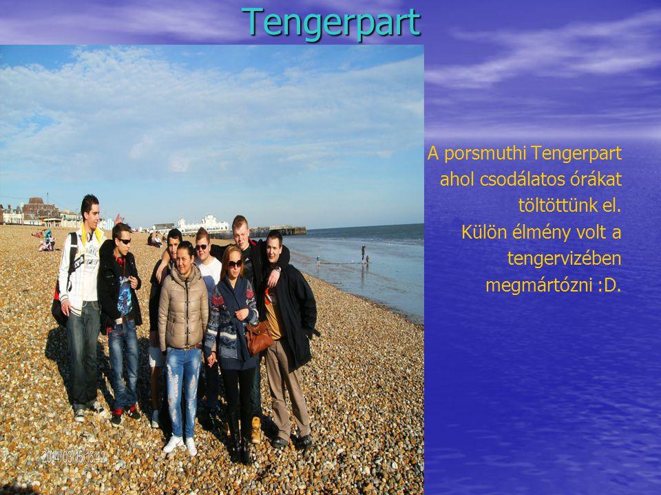 Tengerpart A porsmuthi Tengerpart ahol csodálatos órákat töltöttünk el.